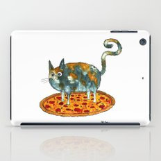 Pepperoni, Black Olives and Cat iPad Case