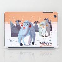 :::Happy Yetis::: iPad Case