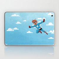 Butterfly in the Sky Laptop & iPad Skin