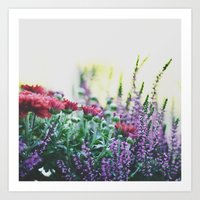 FANTASY COLORS Art Print
