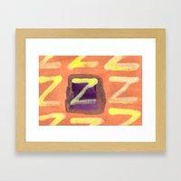 Tint of Orange Framed Art Print