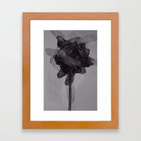 leaf ten Framed Art Print