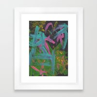 Abstract 191 Framed Art Print