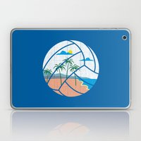 Beach Volleyball Laptop & iPad Skin