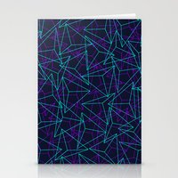 Abstract Geometric 3D Tr… Stationery Cards