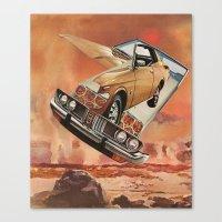 Serene Pleasure Of Speed… Canvas Print