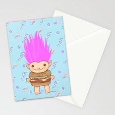 Hamburger Troll Stationery Cards