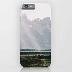 Afternoon Sun Over Teton Mountains iPhone 6s Slim Case