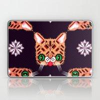 Lil Bub Geometric Patter… Laptop & iPad Skin