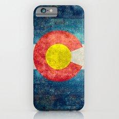 Colorado State flag - Vintage retro style Slim Case iPhone 6s