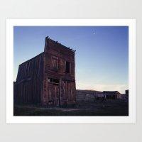 Bodie Barn Art Print