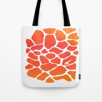 Giraffe Print   Animals Tote Bag