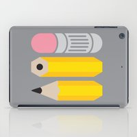 Deconstructed Pencil iPad Case