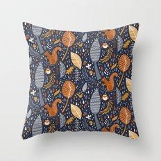 Vive l'automne !  Throw Pillow
