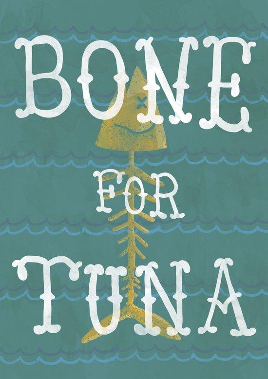 bone for tune (boardwalk empire) Art Print