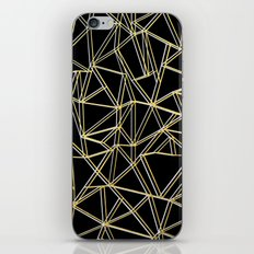 Ab Gold and Silver iPhone & iPod Skin