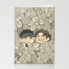 MGS - Snake, Otacon, And… Stationery Cards