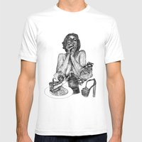 Vogue Mens Fitted Tee White SMALL