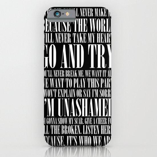 Black Parade iPhone & iPod Case
