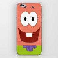 MINIMAL Starfish iPhone & iPod Skin