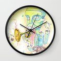 Jazzercise Wall Clock