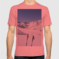 A Good Day Mens Fitted Tee Pomegranate SMALL