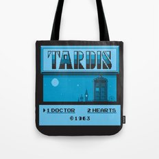 1 Doctor, 2 Hearts Tote Bag