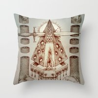 Vagamid - Lord of Fish Throw Pillow