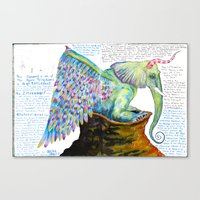 Zipperwoolf Canvas Print