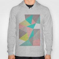 Geometric Pastel Hoody