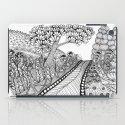 Zentangle Illustration - Road Trip iPad Case