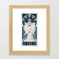 Yue Nouveau Framed Art Print