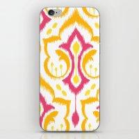 Ikat Damask - Berry Brig… iPhone & iPod Skin