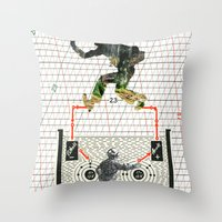 I'm A Part Of Nature, No… Throw Pillow