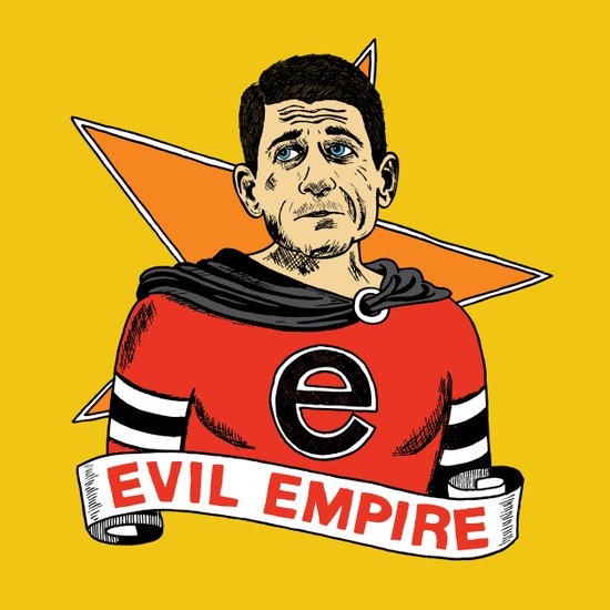 Ryan's Evil Empire Art Print