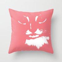 Wolfgang Kitty Throw Pillow