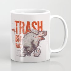 Trash BIG RACE Mug