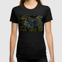 Plumbago Dance Womens Fitted Tee Tri-Black SMALL