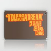 Shoot me in a dream Laptop & iPad Skin
