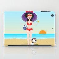 Martini Girl iPad Case