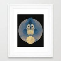 Night Owling Framed Art Print