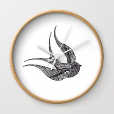 SWALLOW Wall Clock