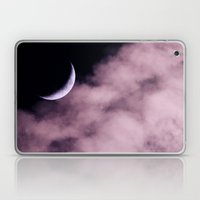 Crescent Moon On A Fluff… Laptop & iPad Skin