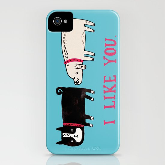 I Like You. iPhone & iPod Case