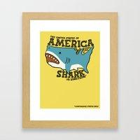America…   It Kinda Lo… Framed Art Print