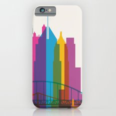 Shapes of Pittsburgh. Accurate to scale Slim Case iPhone 6s