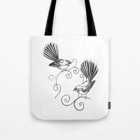 Fantails Tote Bag