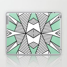 Triangle Tribal Mint Laptop & iPad Skin