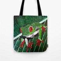 Costa Rica Tree Frog Tote Bag