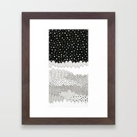 Night Fields Framed Art Print